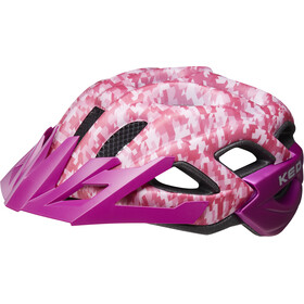 KED Status Casco Bambino, camouflage pink/violet